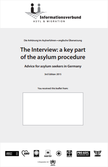 The Interview: a key part of the asylum procedure