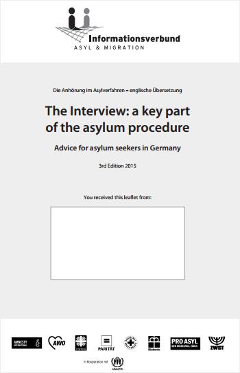 The Interview: a key part of the asylum procedure
